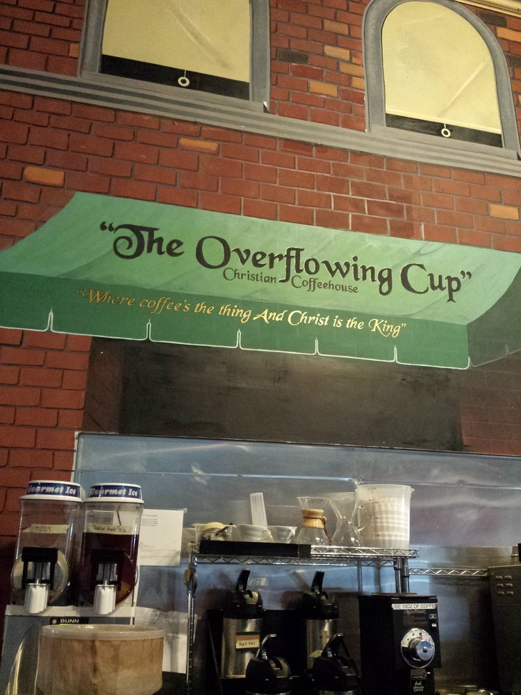 overflowing cup